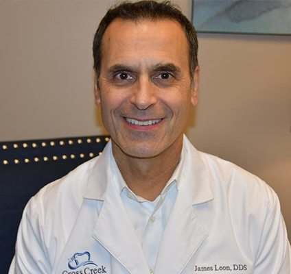 Mount Vernon dentist Dr. James Leon